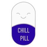 Chill Pill modri