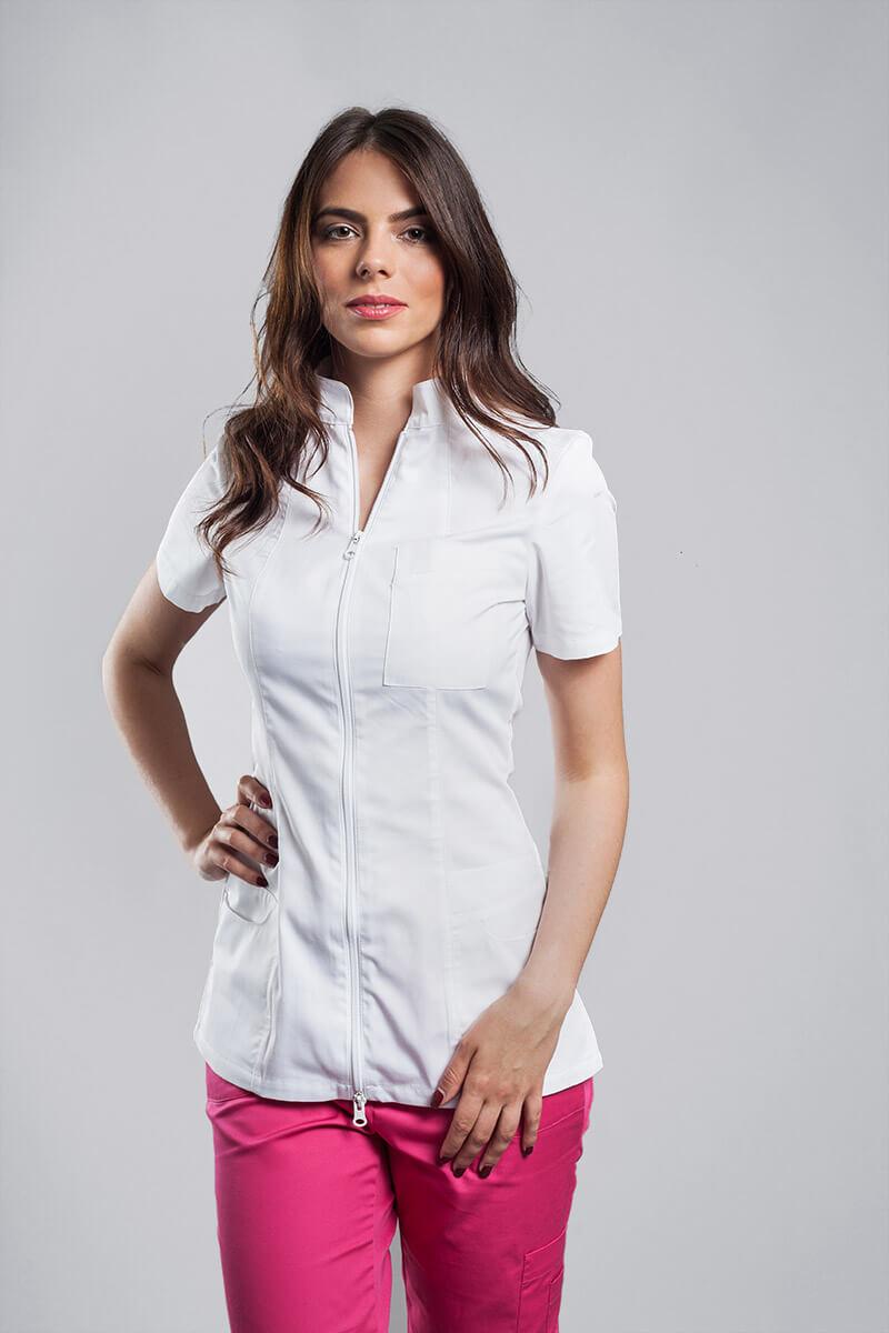Bluza B6 bijela