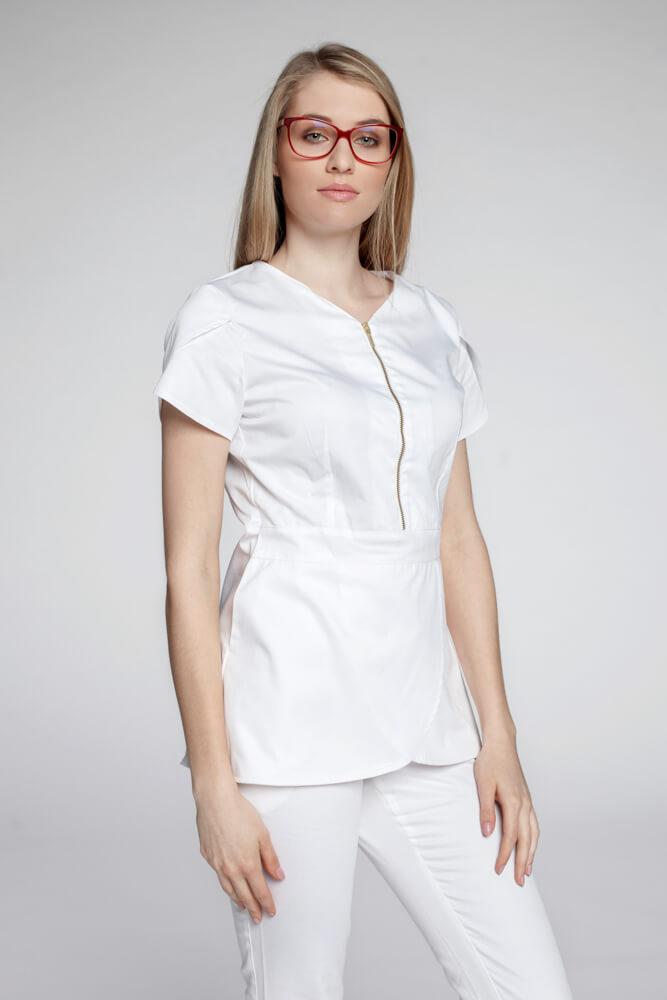 Bluza B7 bijela