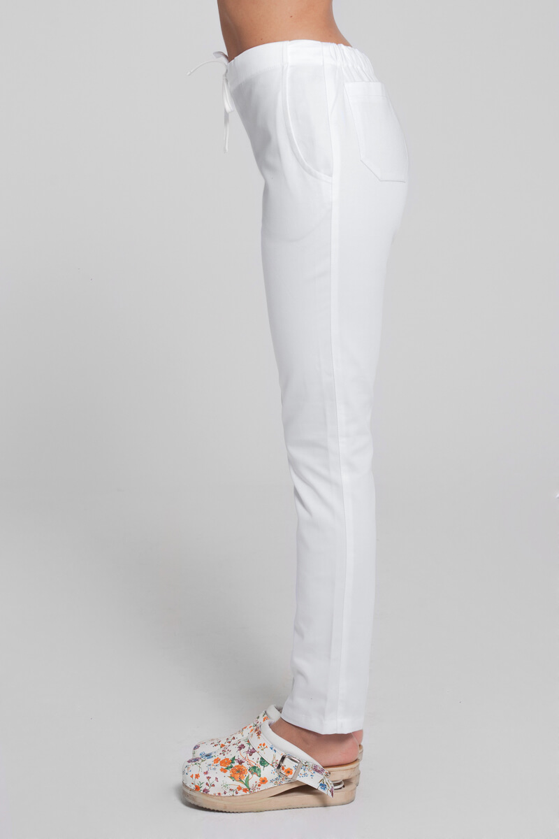Cute hlače H3 bijela 2