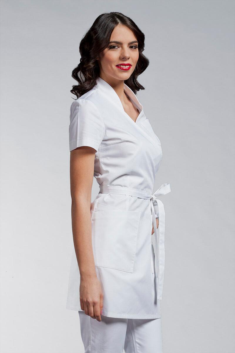 Cute medicinska odjeća kuta C3 bijela