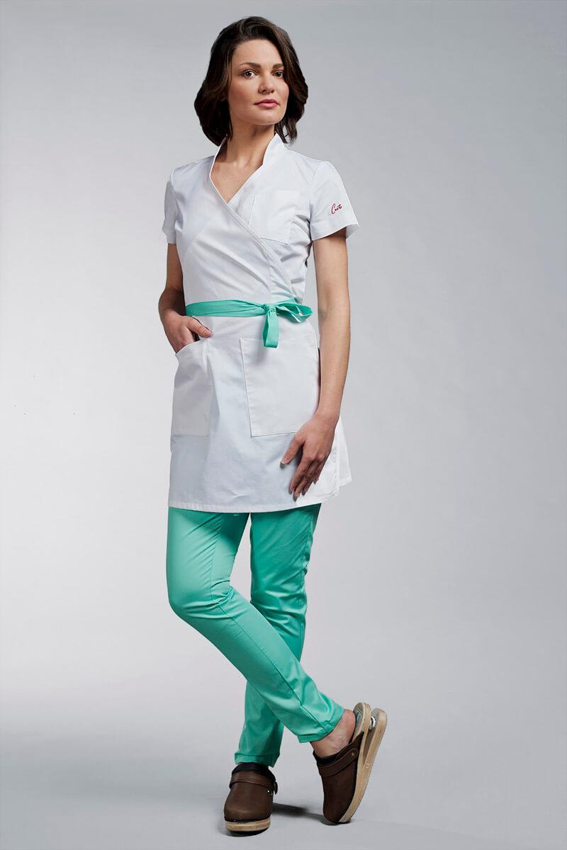 Cute medicinska odjeća kuta C3 bijela 2