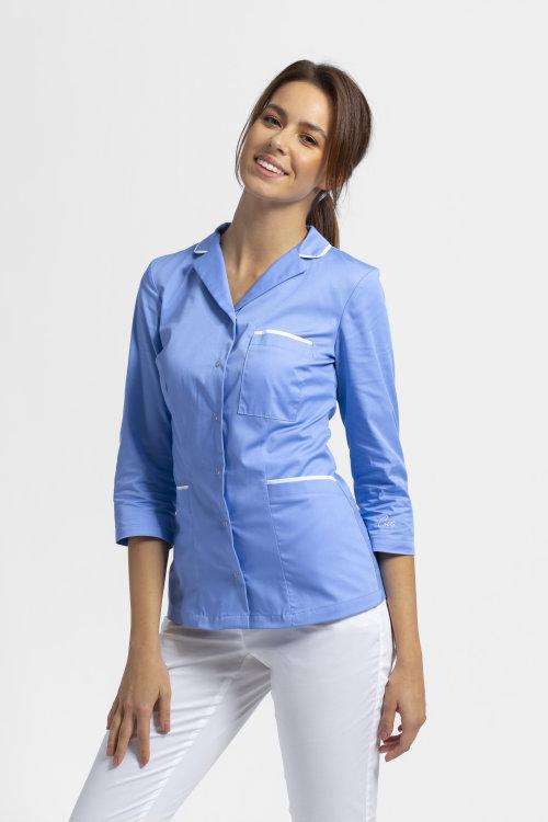 Svetlo modra bluza B14 3/4 rokavi